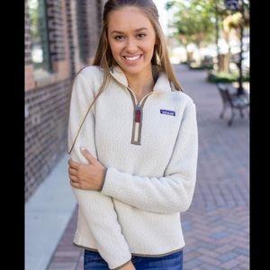 🎃🍁Patagonia Fleece Quarter zip pullover SMALL